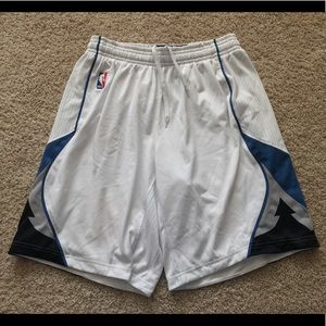 adidas Shorts - Authentic Minnesota Timberwolves game shorts L